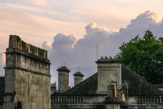 Chimneys/Clouds.