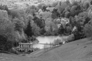 Widcombe from Prior Park.