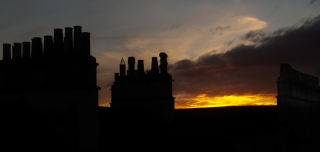 'Sunset from Flat', Covid 19, '20.