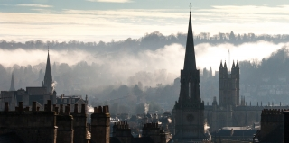 'Fog Rising/Cityscape from Flat', Covid 19, '20.