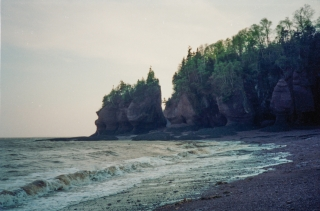 Hopewell Rocks, The Bay of Fundy.