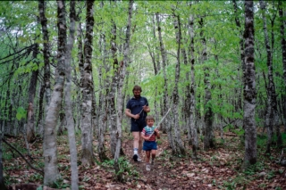 Ed and Rhys, Fundy National Park.