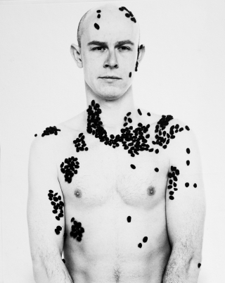 James, [College Project, After Avedon], London, '94.