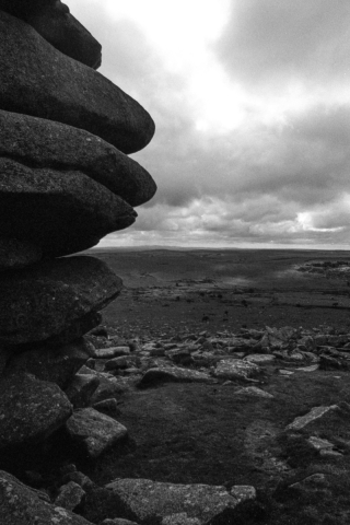 'The Cheese Slices', Bodmin Moor, Cornwall.
