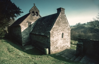 Partrishow Church, S.Wales.