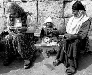 Two women with baby, Turkey, '01