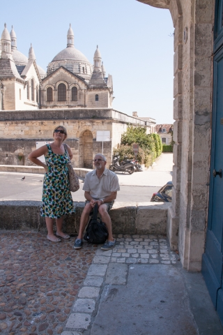 Ros and Mike, France.