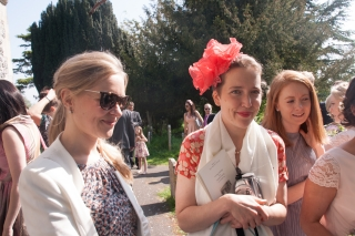 Rebekah and Hetty at G and S's Wedding.