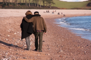 Hugh and Neil, Budleigh Salterton, '19.