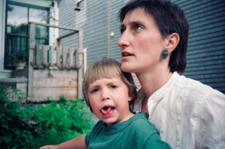 Rhys and Trish, Fredericton, Canada, '90.