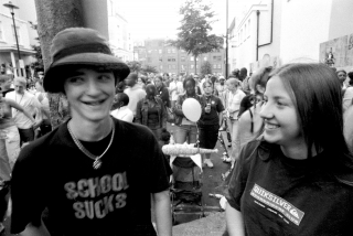 Rob and Emily. Carnival. '93.