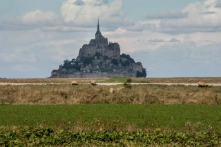 Mont-St-Michel, France. '15.