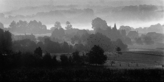 Dordogne, Dawn, France, '00.