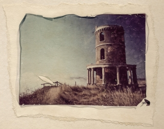 Polaroid Lift, Folly, Kimmeridge Bay.