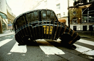 Taxi, Bristol, [Artist Unknown].