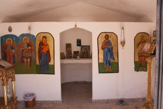 Mani Peninsula, Church Art, '16.