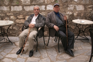 Karetina, Two Old Men, '10.