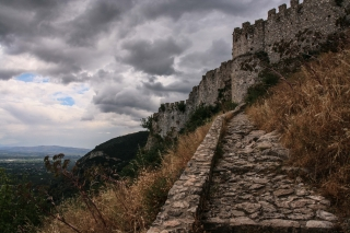 Mystra, Frankish Castle, '10.