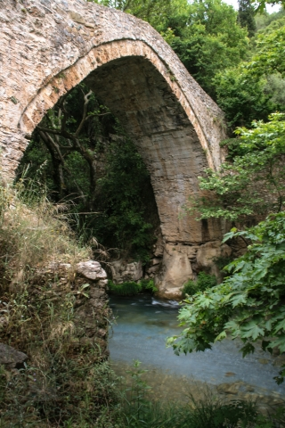 Byzantine Bridge, Lousios River, '10.