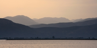 Nafplio, Distant Mountains, '10.