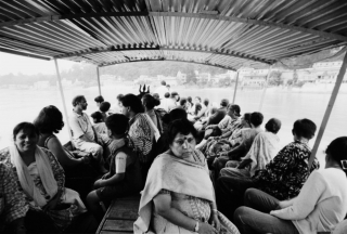 Ferry on the Ganges, Rishikesh, '01.