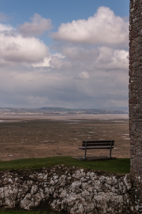 View from Woebly Castle, Gower, Wales.