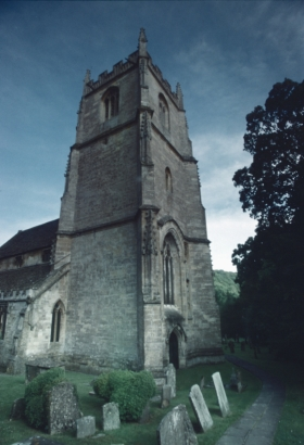 Church, Castle Combe, Wilts.