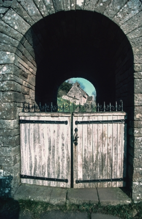 Partrishow Church, Brecon, Wales 1.